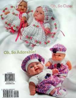 Crochet Oh, So Cute Doll Clothes New! Annies Attic
