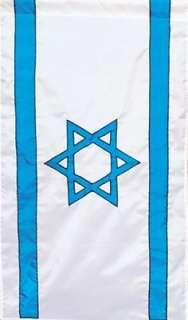 28x48 ISRAEL APPLIQUE FLAG