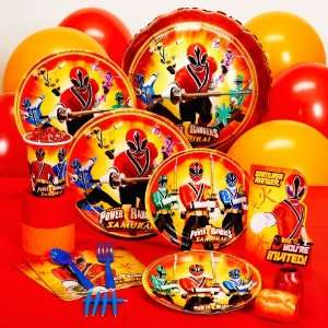 By Amscan Power Rangers Samurai Standard Party Pack
