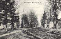 Davenport NY Delaware Co Main Street Scene Postcard N Y