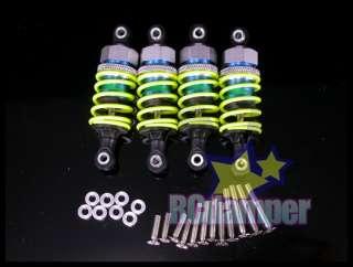 ALUMINUM FRONT & REAR DAMPER SHOCK FOR HPI NITRO RS4 3 & RS4 2
