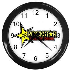 Rockstar Energy Logo New Wall Clock Size 10 Free Shipping