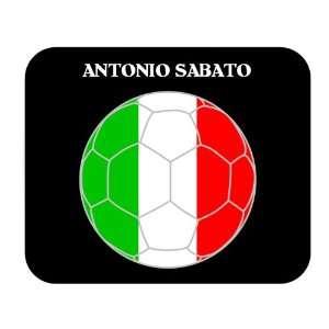 Antonio Sabato (Italy) Soccer Mouse Pad