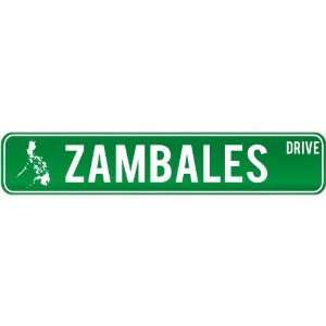 New  Zambales Drive   Sign / Signs  Philippines Street