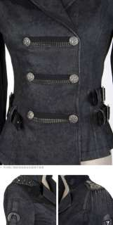unisex rock goth cool punk knight Japan jacket blazer top S XL FREE