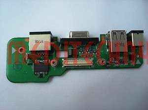 DELL INSPIRON 1545 DC CHARGER LAN USB BOARD POWER PB12A