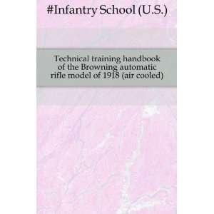 Technical training handbook of the Browning automatic rifle