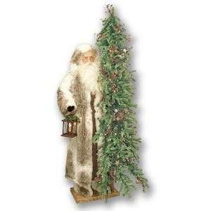57 Ditz Father Christmas Santa w/ Tree and Lantern
