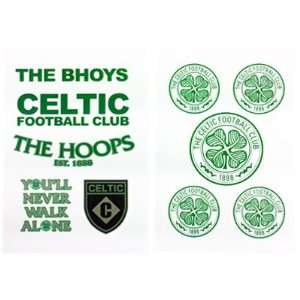 Celtic FC. Tattoo Pack: Sports & Outdoors