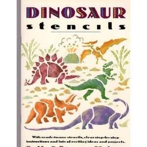 Exotic & Extinct Animals: Dinosaur Stencil Book