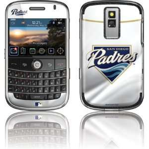 San Diego Padres Home Jersey skin for BlackBerry Bold 9000