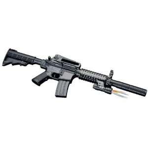 Rifle Silencer, Flashlight, Collapsible Stock Airsoft Gun Sports