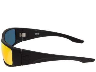 NEW $105 Spy Cooper XL Matte Black GREY W/ RED SPECTRA MIRROR Lens