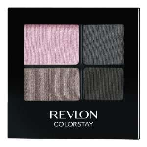 REVLON Colorstay 16 Hour Eye Shadow Quad, Enchanted, 0.16
