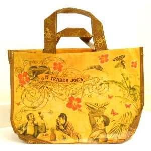 Set of 3 Trader Joes Reusable Eco Shopping Bags Totes  Sailing the