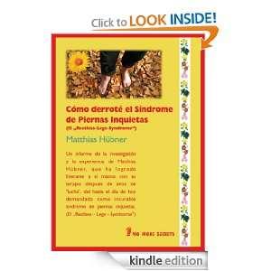 Restless Legs Syndrome)   Curación informe del libro (Spanish Edition