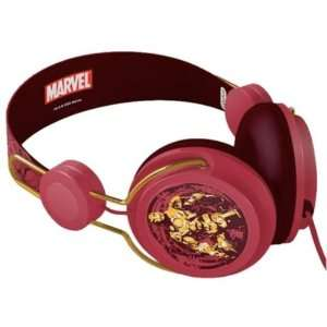 Brand New Coloud Marvel Iron Man Headphones