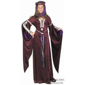 Kids Medieval Queen Costume (Size:Large 10 12): Toys