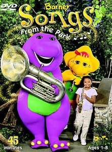 Barney Friends   Songs From The Park DVD, 2003