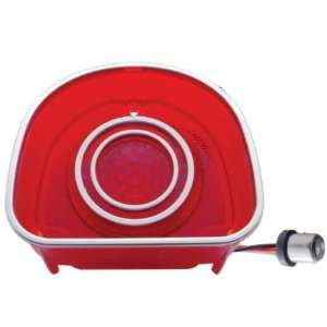 1968 CHEVY BEL AIR / BISCAYNE LED TAIL LIGHT RED LENS Automotive