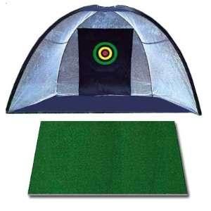 Net/4x4 Residential Golf Mat/Almost Golf Balls/Tees