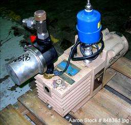 USED Stokes rotary vane vacuum pump, model 900 5 2. Dr