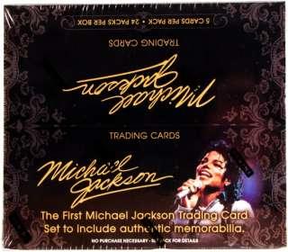 Michael Jackson Hobby Box (2011 Panini)