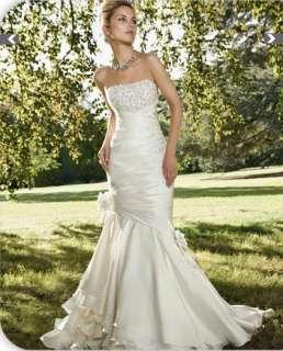 HOT SALE Mermaid Bridal Wedding Dress Gown
