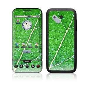 HTC Google G1 Decal Vinyl Skin   Green Leaf Texture