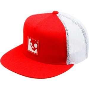 Skullcandy Crown Trucker Hat Red, One Size Sports