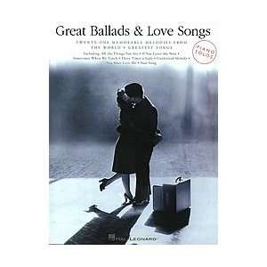 Great Ballads & Love Songs   Piano Solos Musical