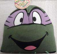 TEENAGE MUTANT NINJA TURTLES TMNT DONATELLO Purple Knit Beanie Hat