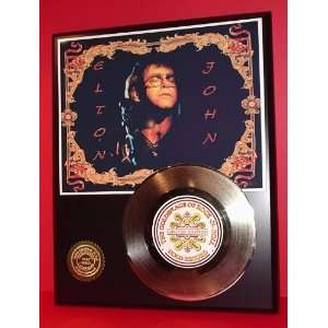 Elton John 24kt Gold Record LTD Edition Display ***FREE