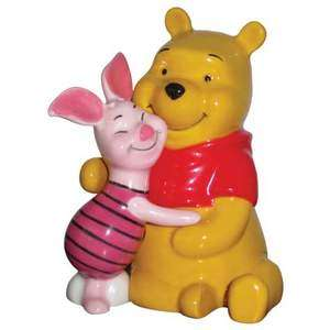 Winnie the Pooh & Piglet   Salt and Pepper Shakers