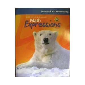 Math Expressions, Grade 4 Homework and Rembering