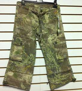 Womens Realtree Girl Camo Mini Skirt NWT