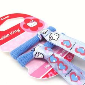 Set of 2 elastic bands + Hello Kitty sky blue. Jewelry