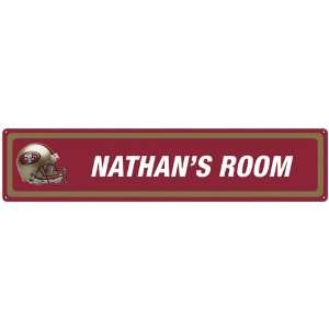 San Francisco 49ers NFL Personalized Room Sign Sports