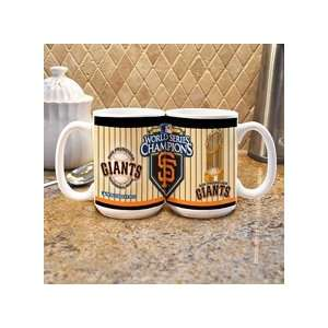 San Francisco Giants 2010 World Series Champions 15oz Mug