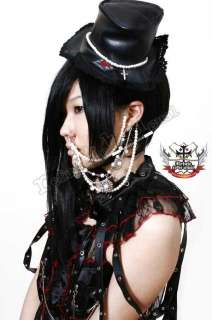GOTHIC DOLL EGL Lolita PEARL PRINCESS Earring+Nose Ring