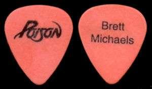 POISON     Brett Michaels Misprint guitar pick