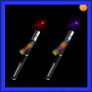 1xNew Red Laser Pointer Pen+Purple Beam Lazer Pointer Stylus,5mw