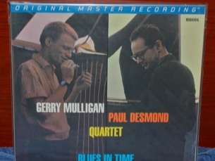MFSL GERRY MULLIGAN/PAUL DESMOND BLUES IN TIME 1 241 SEALED LP