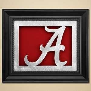 Alabama Framed Laser Cut Metal Wall Art
