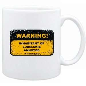 Inhabitant Of Lubelskie Annoyed  Poland Mug City Home & Kitchen