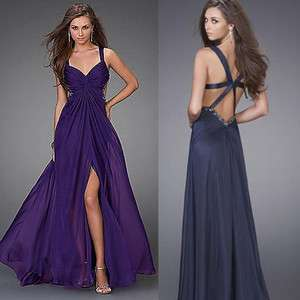 Exquisite mermaid Chiffon wedding gown prom/ball/formal/bridesmaid