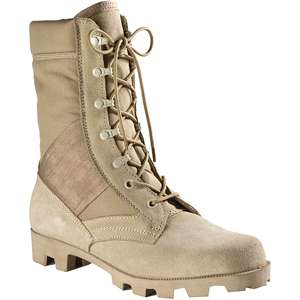 Desert Tan   Panama Sole Military Speedlace Jungle Boots (Leather) 8