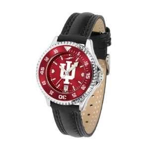 Indiana Hoosiers IU NCAA Womens Leather Anochrome Watch