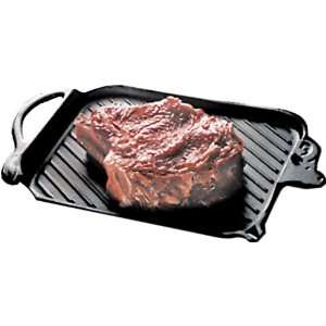Paderno Cast Iron Steak Grill , L 14 1/4 x W 8 5/8 x H 3/4