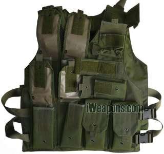 IDF Combat Tactical Battle VEST + Body Armor Pockets